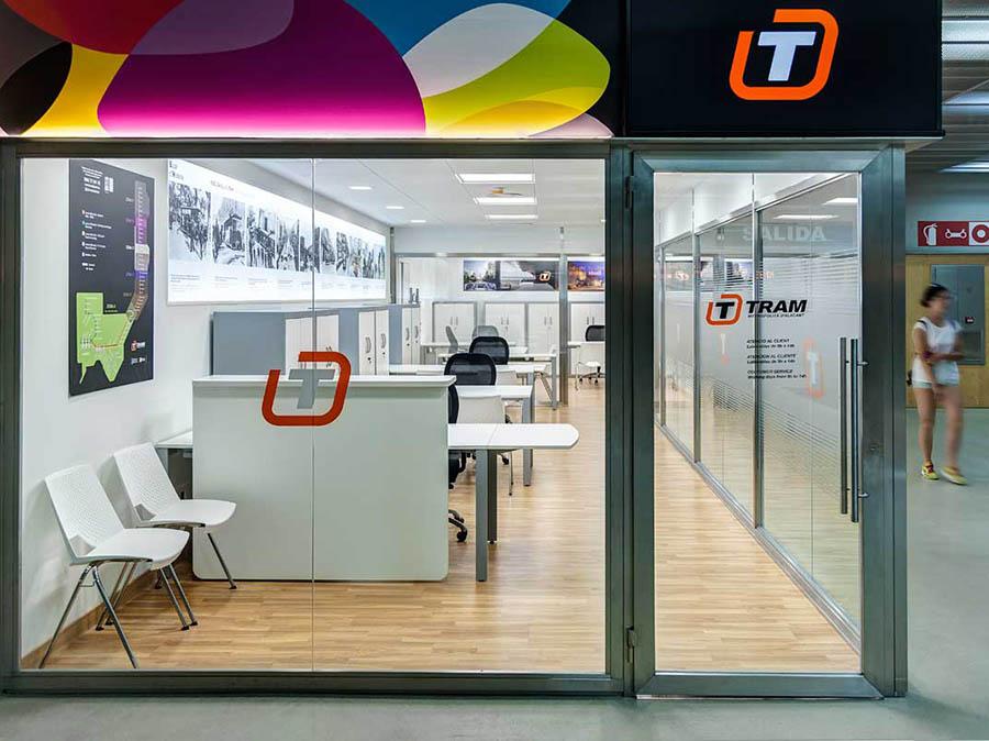 Laquant ha finalizado las obras del punto de atención al cliente de la estación de Luceros en Alicante