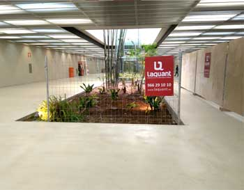 Laquant comienza las obras de punto de atención al cliente de la estación de Luceros en Alicante