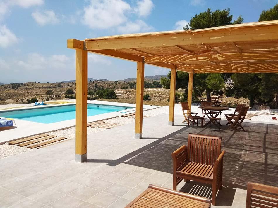 Construccion de piscina para vivienda Aguas de Busot