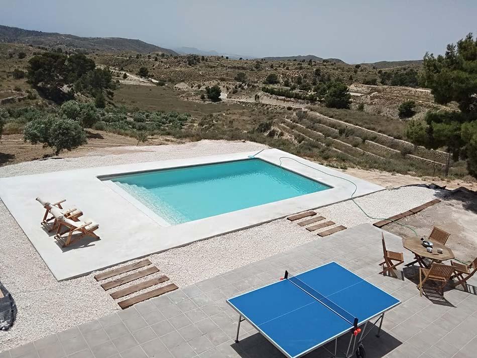 Construccion piscina para vivienda Aguas de Busot