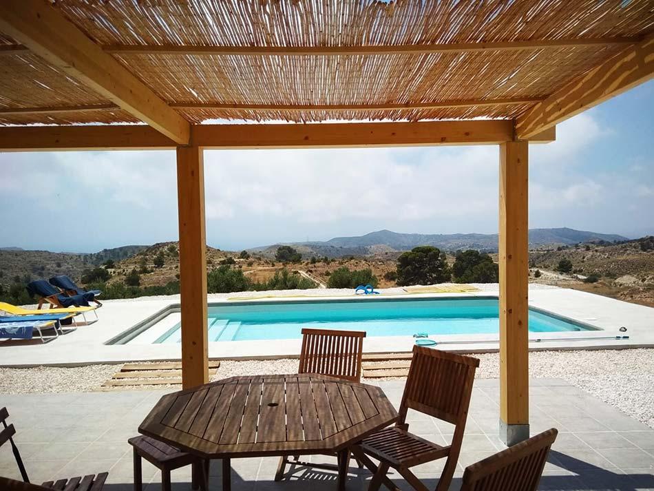 Ejecución de piscina para vivienda unifamiliar en Aguas de Busot