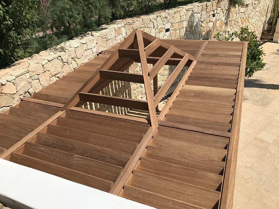 Intervención estructural en hormigón y madera