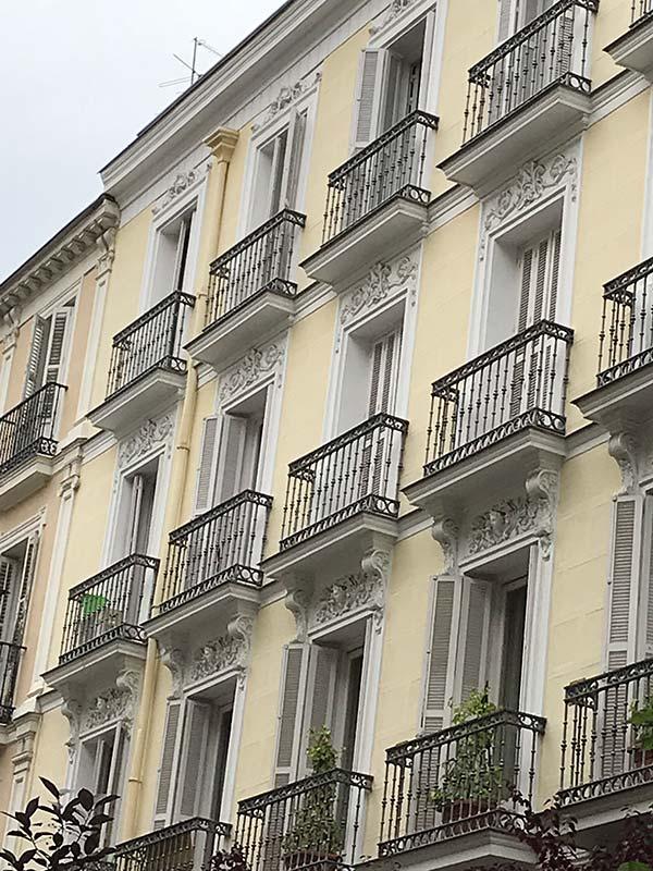 Reforma vivienda en Recoletos Madrid 2