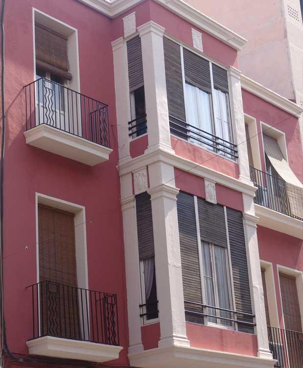 Rehabilitacion de fachada en calle Resyes Catolicos