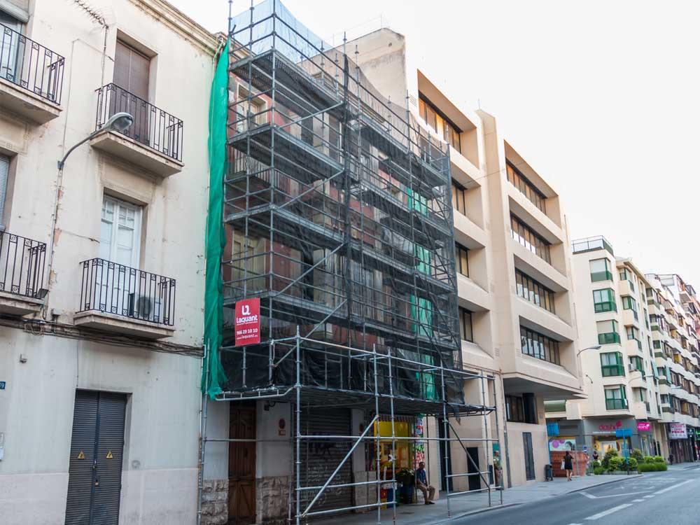 Rehabilitacion de fachadas-Laquant