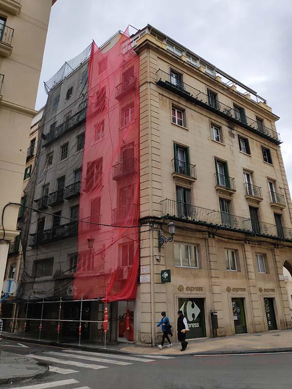 Rehabilitacion fachada Plaza Ayto Alicante - Laquant_2