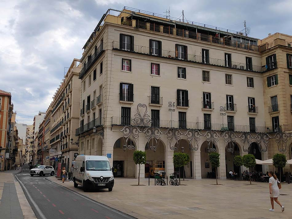 Rehabilitacion fachada Plaza Ayto Alicante - Laquant_5