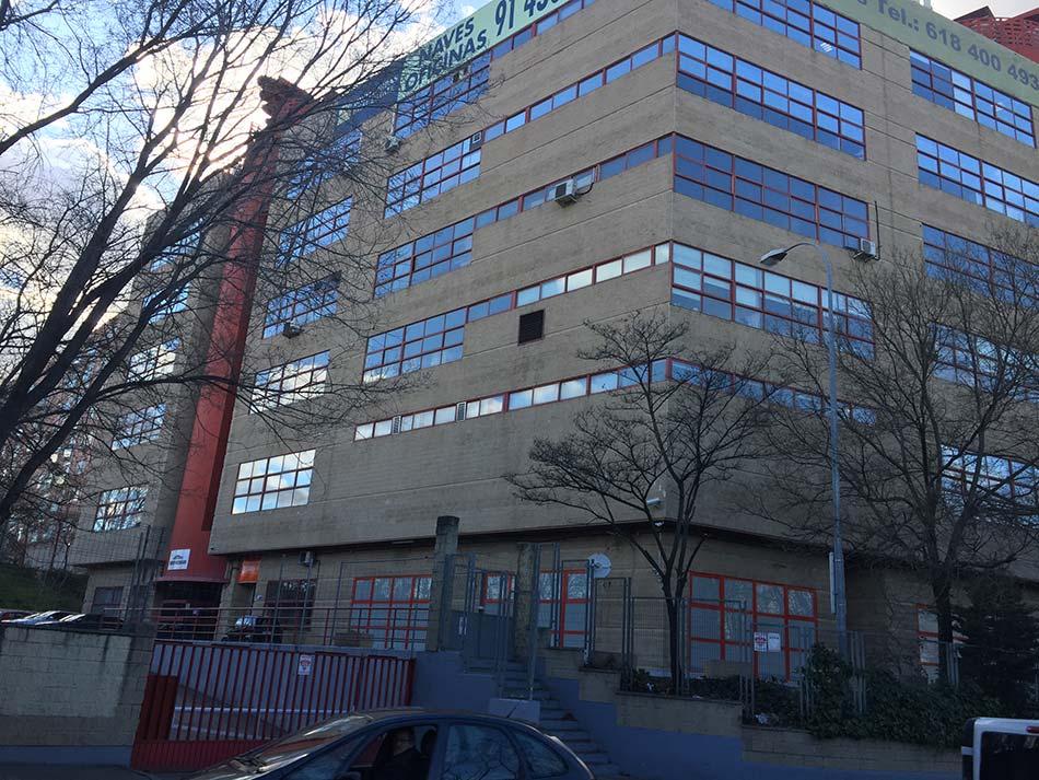 Remodelación de edificio NOVOSUR Madrid 1