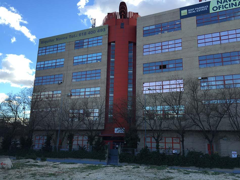 Remodelación de edificio NOVOSUR Madrid 2