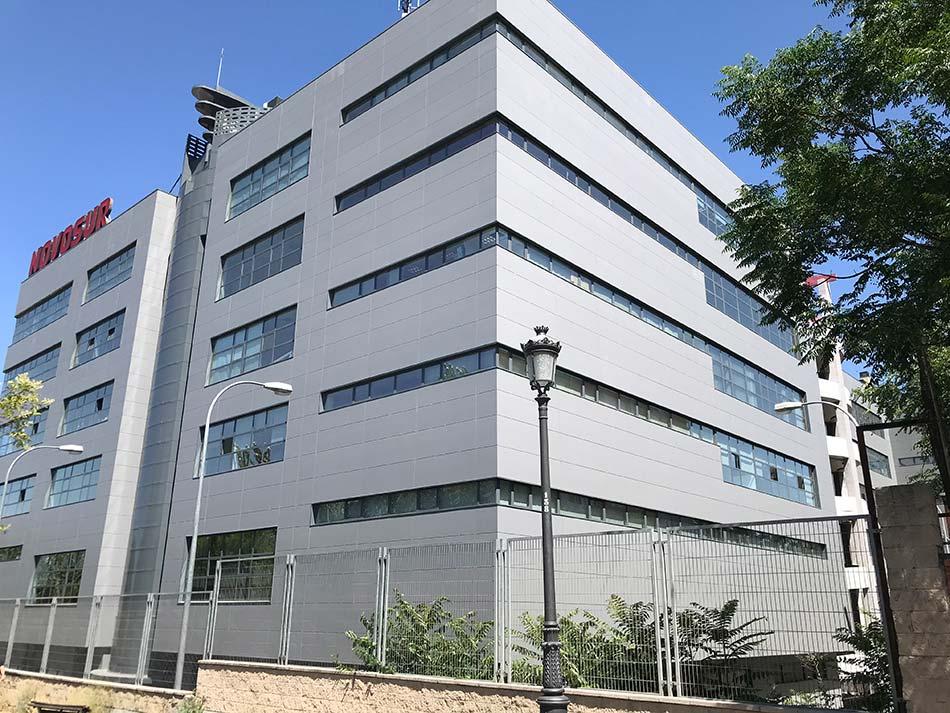 Remodelación de edificio NOVOSUR Madrid 21