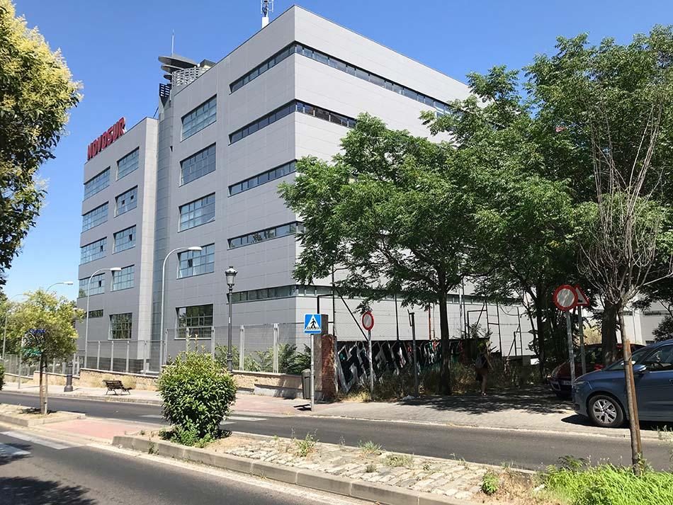Remodelación de edificio NOVOSUR Madrid 3
