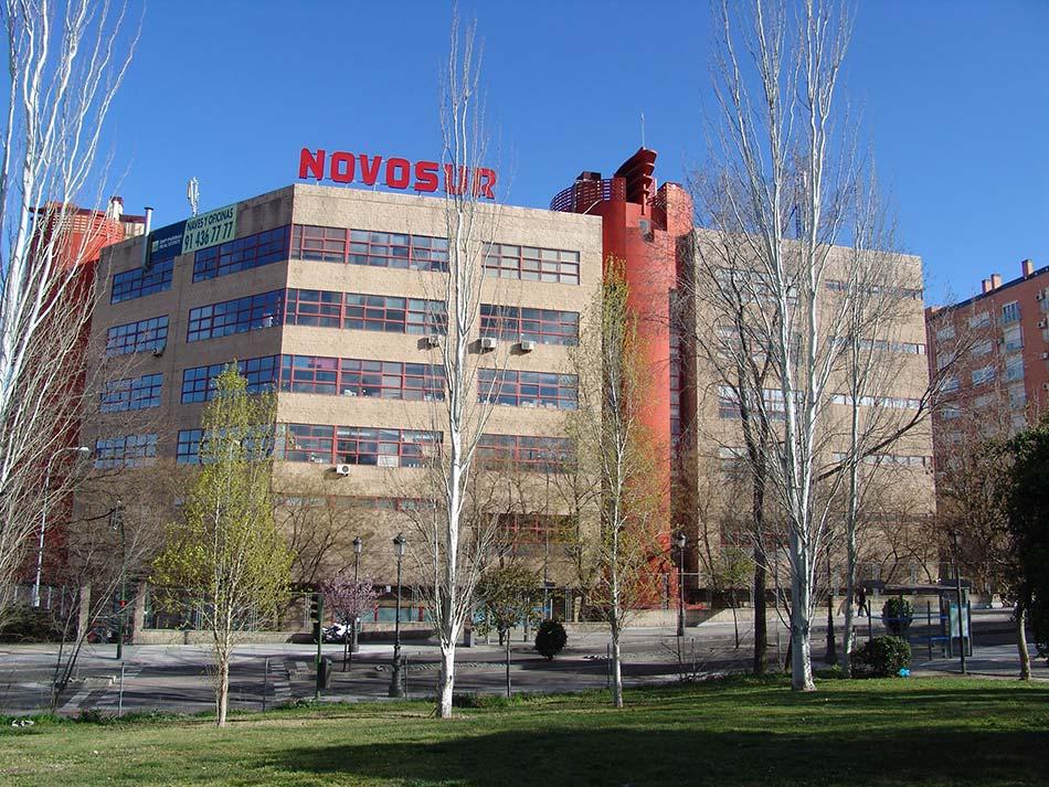 Remodelación de edificio NOVOSUR Madrid