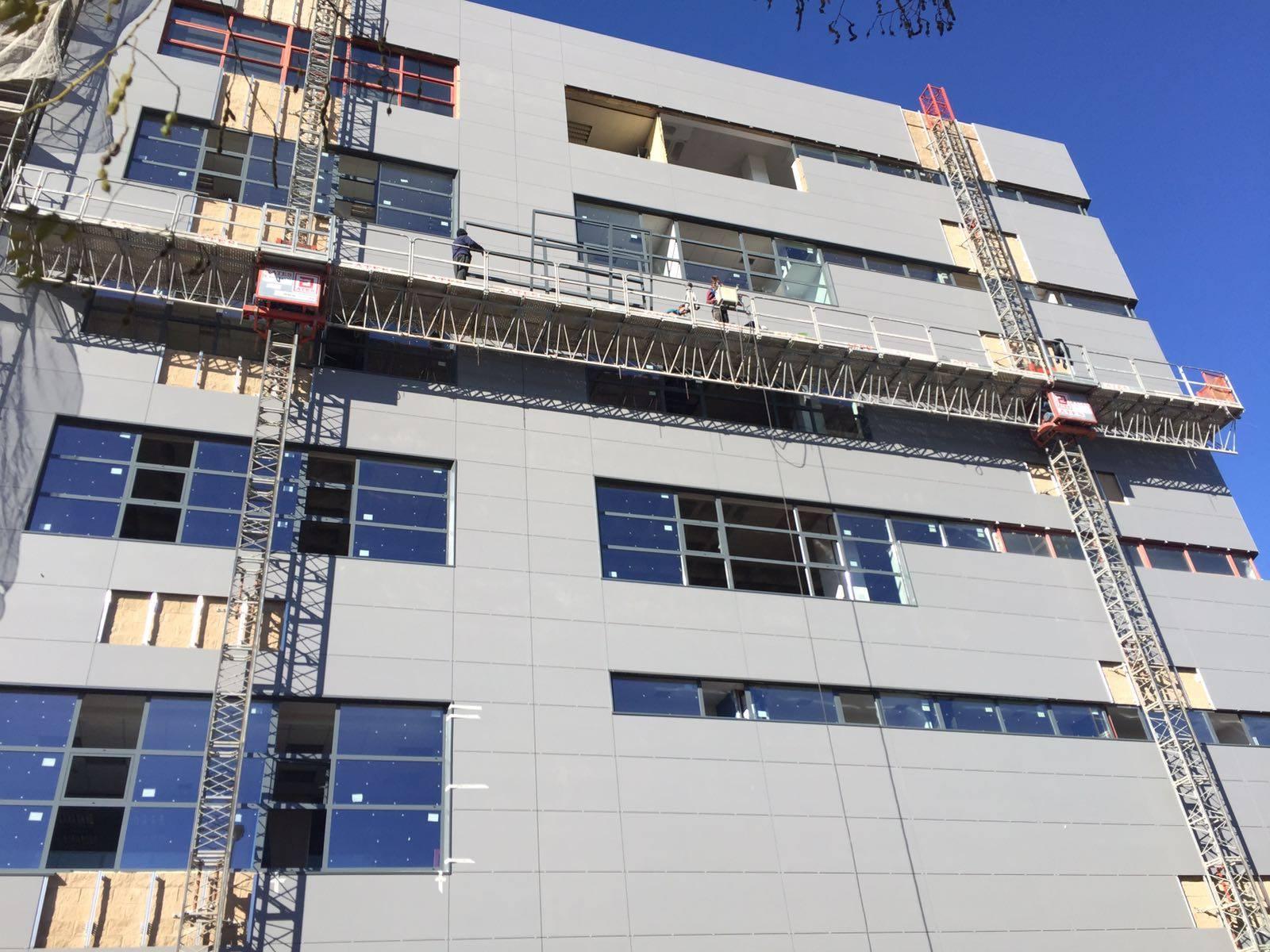 Remodelacion edificio Novosur de Madrid (2)