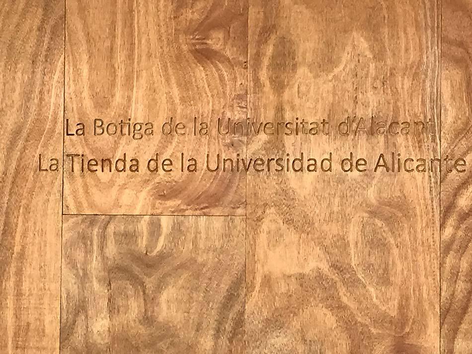 Tienda U.A. STORE Universidad de Alicante