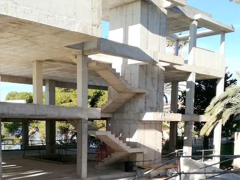 vivienda unifamiliar en el Cabo de las Huertas de Alicante